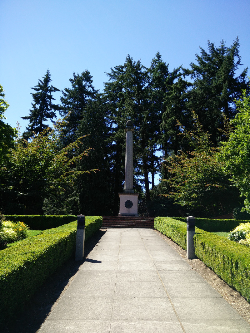 Oregon Seal Monument